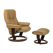 Mayfair Medium Chair and Ottoman