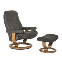 Consul Large Chair and Ottoman