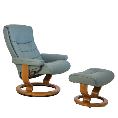 Nordic Medium Chair and Ottoman