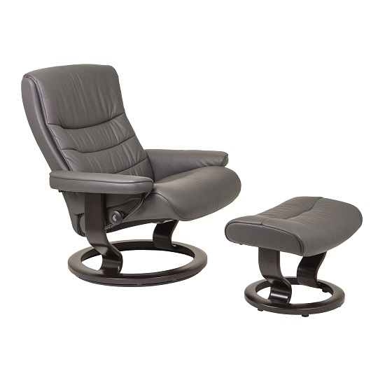 Nordic Large Chair and Ottoman