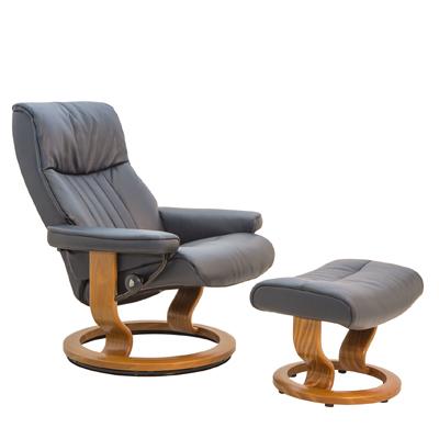 Crown Medium Chair and Ottoman