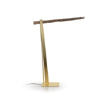 Beam Medium Brass Lamp