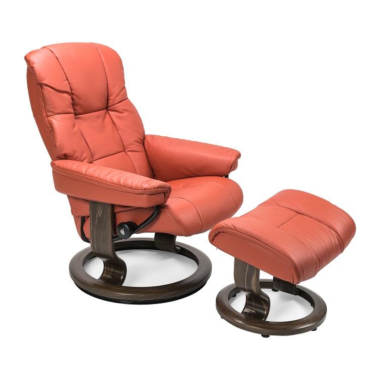 Mayfair Small Chair and Ottoman