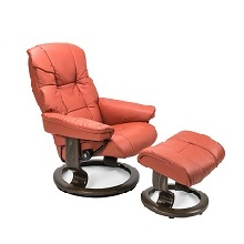 Mayfair Small Chair and Ottoman
