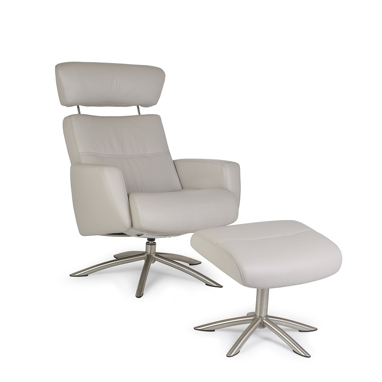 Spencer Chair and Ottoman