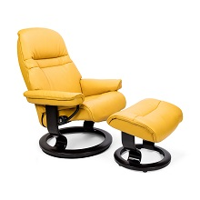 Sunrise Medium Chair and Ottoman