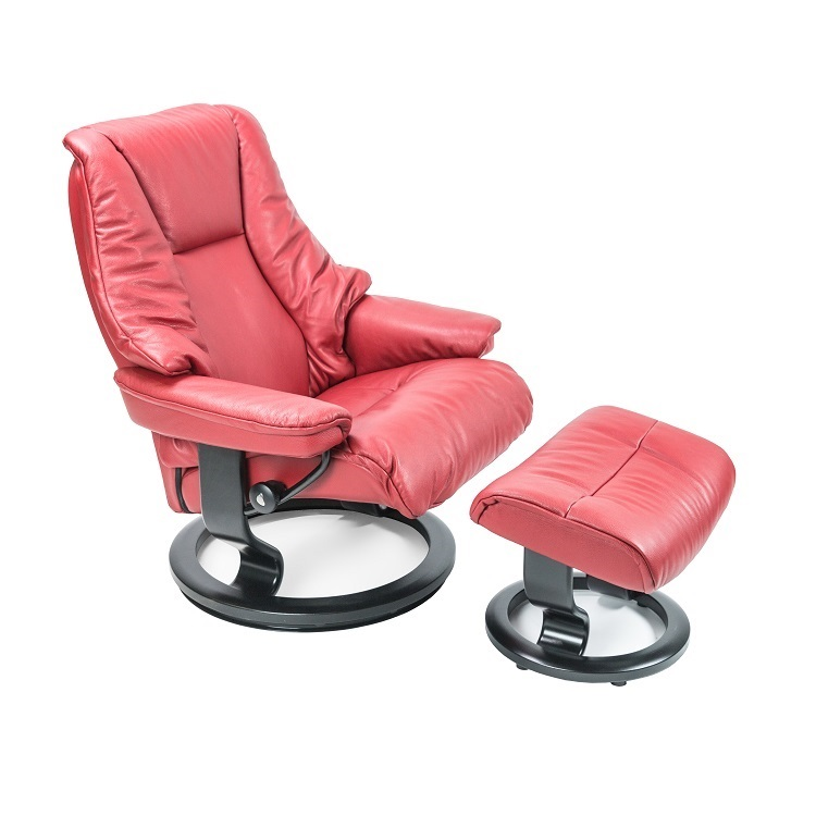 Live Large Chair and Ottoman