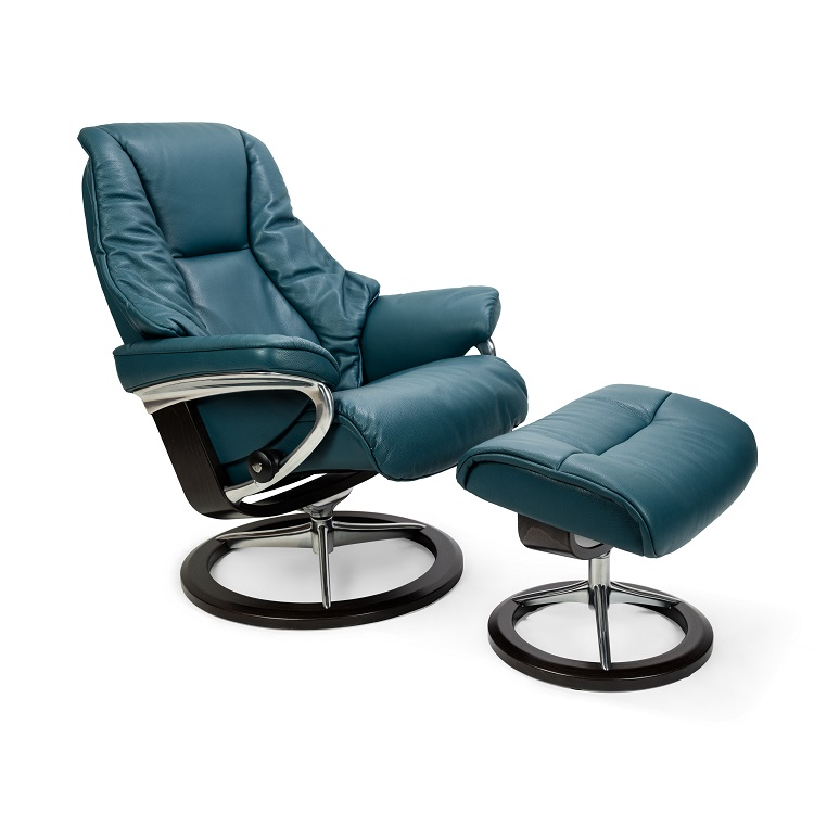 Live Medium Chair and Ottoman