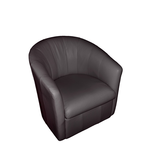 lily swivel chair charcoal