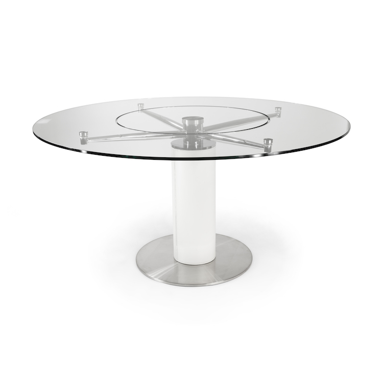 Rimini Dining Table with Lazy Susan