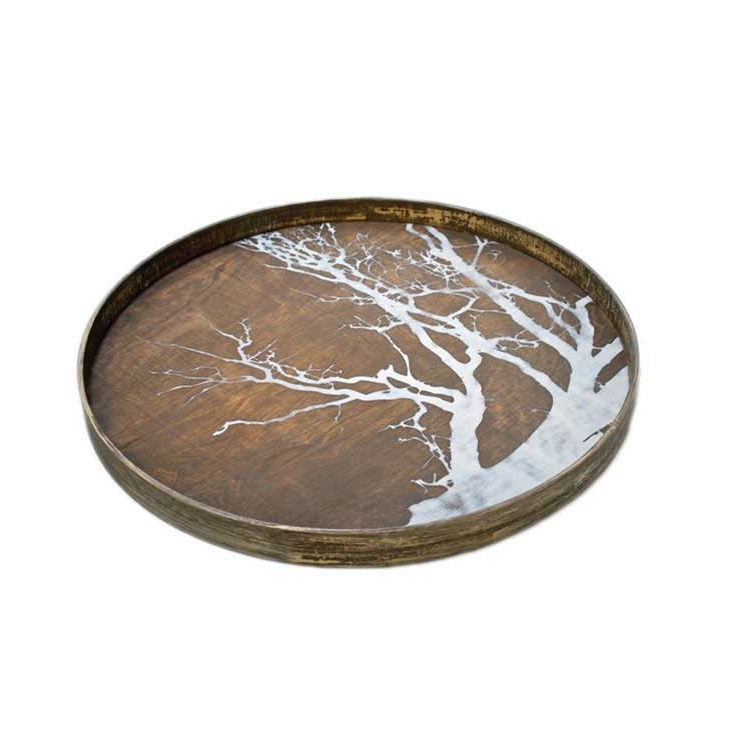 White Tree Tray