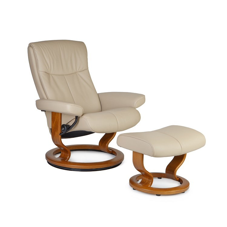 Peace Medium Chair and Ottoman
