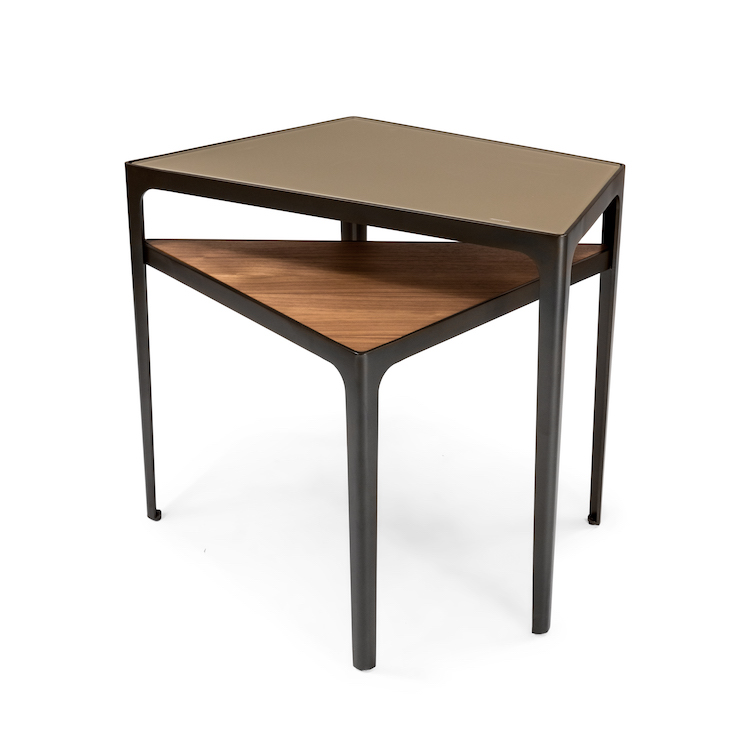 Duet End Table