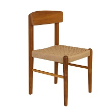 Jonas Rope Chair Teak