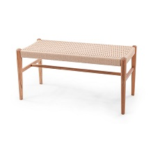 Jonas Rope Bench Teak