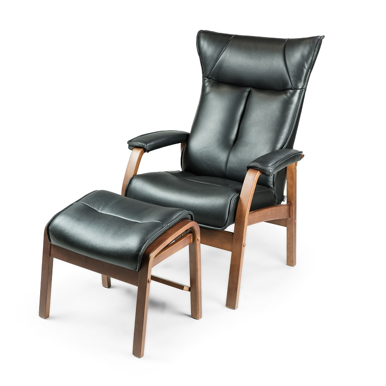 Romeo Small Chair and Ottoman