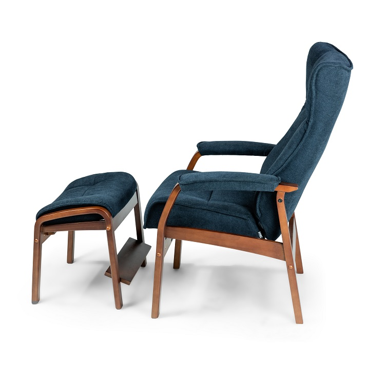 Romeo Large Chair and Ottoman