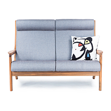 Morten Teak Loveseat