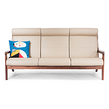 Morten Walnut Sofa