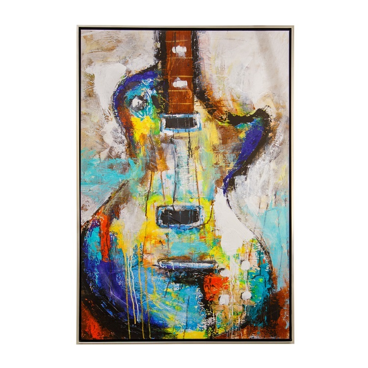 Blues Tempo Wall Art
