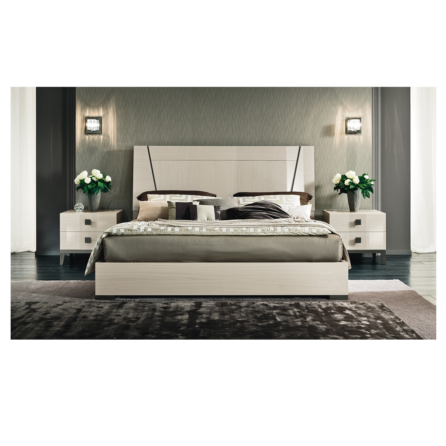 Bella Avorio California King Bed