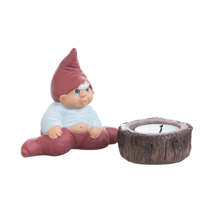 Albert Ceramic Elf with Votive