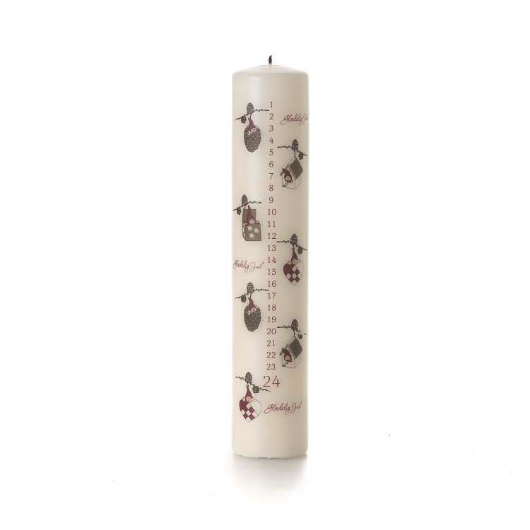 Elf Advent Candle