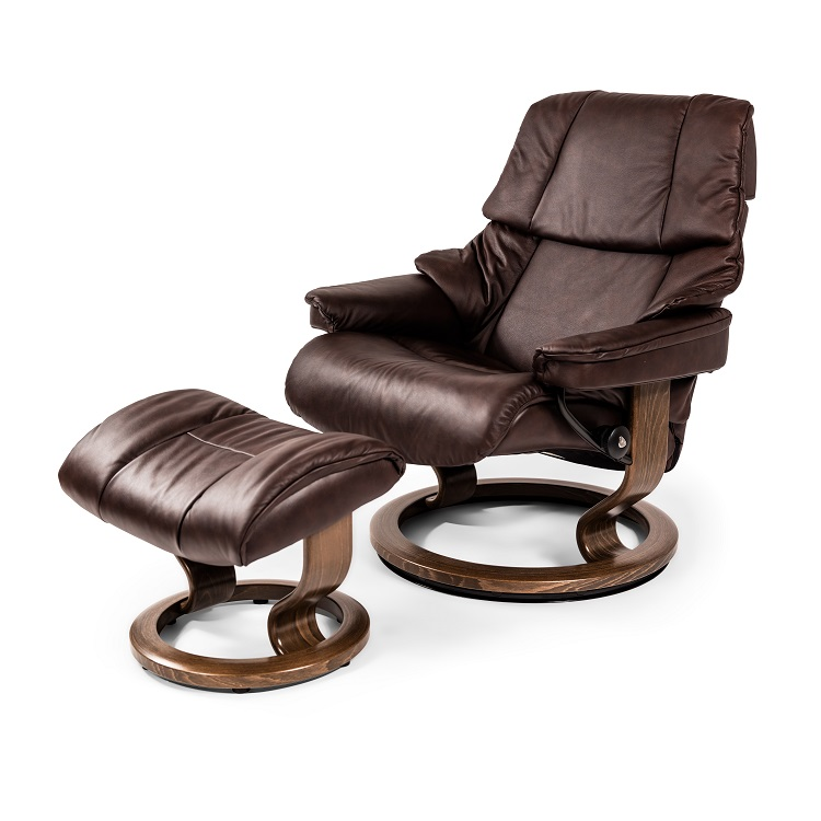 Reno Medium Chair and Ottoman