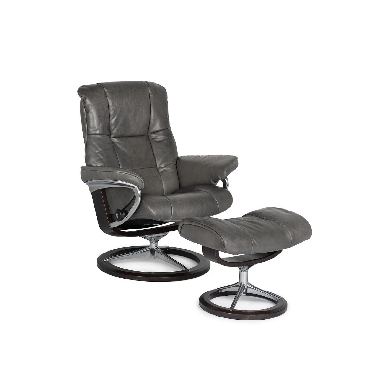 Mayfair Large Chair & Ottoman