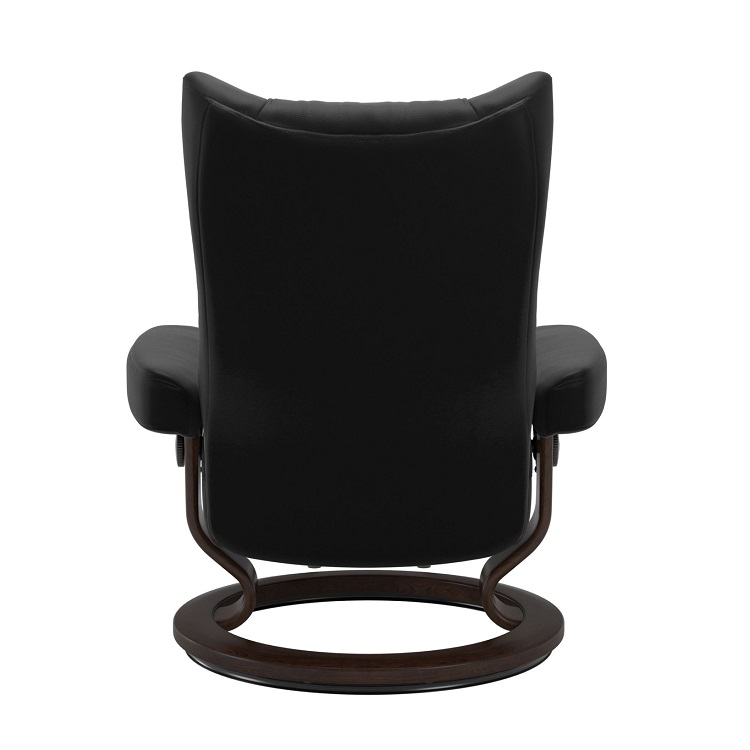 Wing Large Chair and Ottoman