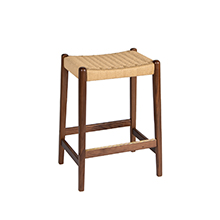 Jonas Walnut Counter Stool