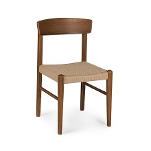 Jonas Rope Chair Walnut