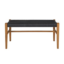 Jonas Teak Rope Bench