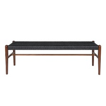 Jonas Walnut Long Bench