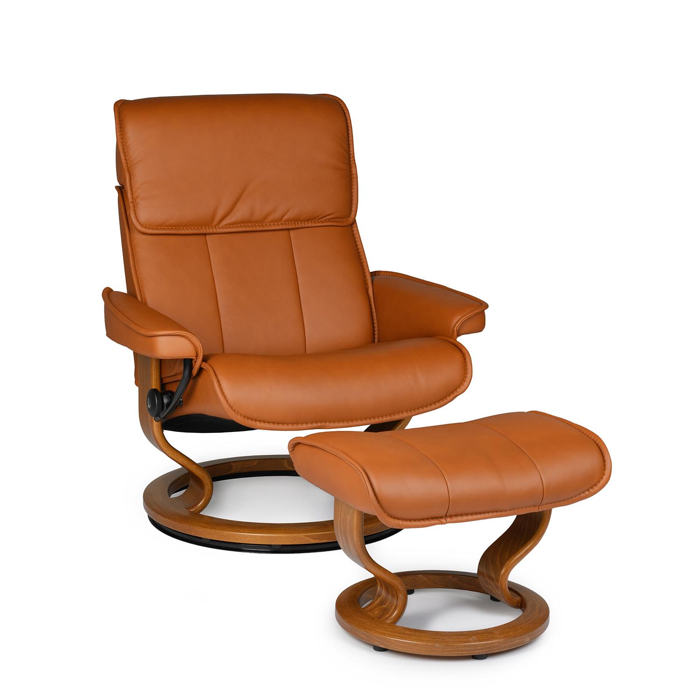 Admiral Medium Chair & Ottoman